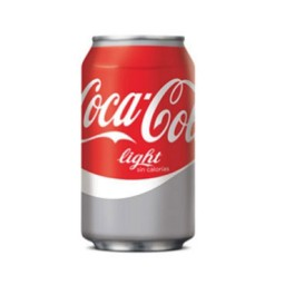 24 latas Coca Cola Light 33 cl.