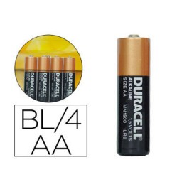 BL4 pilas alcalinas Duracell Simply LR6/AA