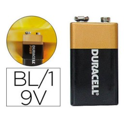 Pilas alcalina Duracell Plus Power 9V