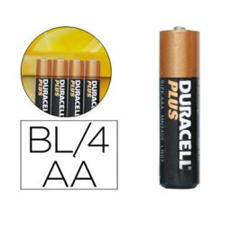 BL4 pilas alcalinas Duracell Plus Power LR6/AA