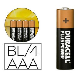 BL4 pilas alcalinas Duracell Plus Power LR03/AAA