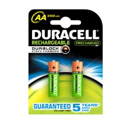 BL2 pilas alcalinas recargables Duracell Stay Charged LR6/AA