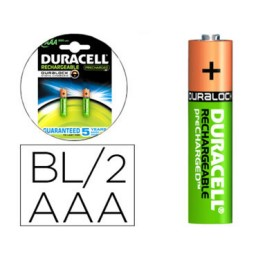BL2 pilas alcalinas recargables Duracell Stay Charged LR03/AAA