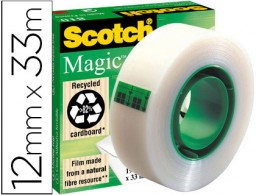 Cinta adhesiva Scotch Magic 33m.x12 mm.