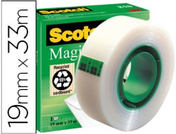 Cinta adhesiva Scotch Magic 33m.x19 mm.
