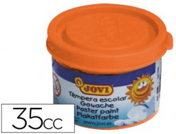 tempera jovi 35 ml naranja