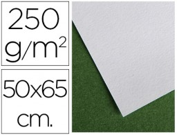 papel secante canson 50x65 cm liso blanco 250 gr