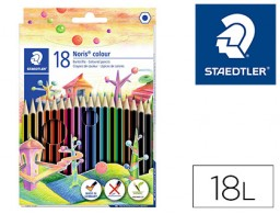 18 lápices de colores Staedtler Noris Colour Wopex ecológico