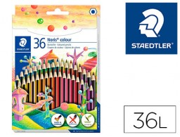 36 lápices de colores Staedtler Noris Colour Wopex ecológico