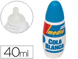Pegamento cola blanca Imedio 40ml.