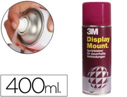 Pegamento adhesivo en spray Scotch Display Mount 400ml.