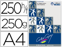 250h papel fotocopiadora Color Copy Glossy A4 250g/m²