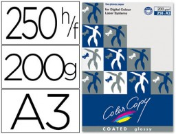 250h papel fotocopiadora Color Copy Glossy A3 200g/m²