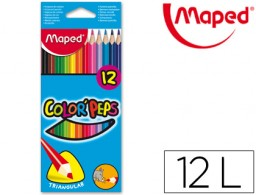 12 lápices de colores Maped 183212