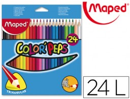 24 lápices de colores Maped 183224