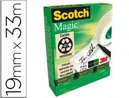 36 cintas adhesivas Scotch Magic 33m.x19 mm.