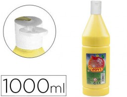 Témpera líquida Jovi escolar 1000ml. amarillo