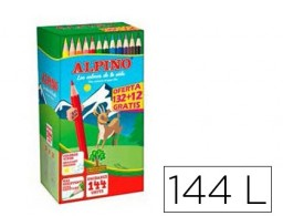 132+12 lápices de colores Alpino School Pack