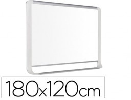 Pizarra blanca Bi-Office 1800x1200mm. acero lacado