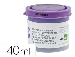 tempera Liderpapel escolar 40 ml violeta