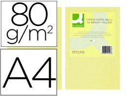 500h papel fotocopiadora Q-Connect A4 80g/m² color champagne