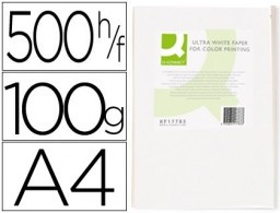 500h papel fotocopiadora Q-Connect Ultra white A4 100g/m²