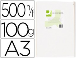 500h papel fotocopiadora Q-Connect Ultra white A3 100g/m²