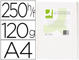 250h papel fotocopiadora Q-Connect Ultra white A4 120g/m²