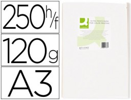 250h papel fotocopiadora Q-Connect Ultra white A3 120g/m²