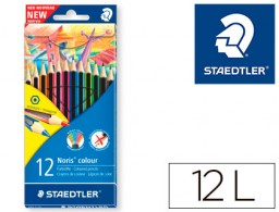 12 lápices de colores Staedtler Noris Colour Wopex ecológico