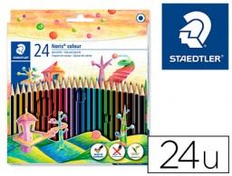 24 lápices de colores Staedtler Noris Colour Wopex ecológico