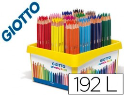 192 lápices de colores Giotto Stilnovo School Pack