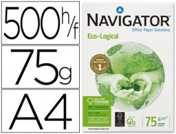 500h papel fotocopiadora Navigator Eco-Logical A4 75g/m²