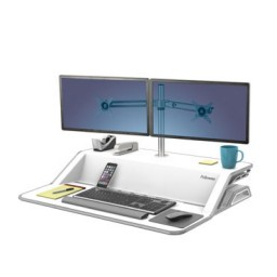 Brazo 2 monitores Sit Stand Lotus Fellowes 8042901